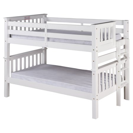 Santa Fe Mission Low Bunk Bed Twin Over Twin Bed End