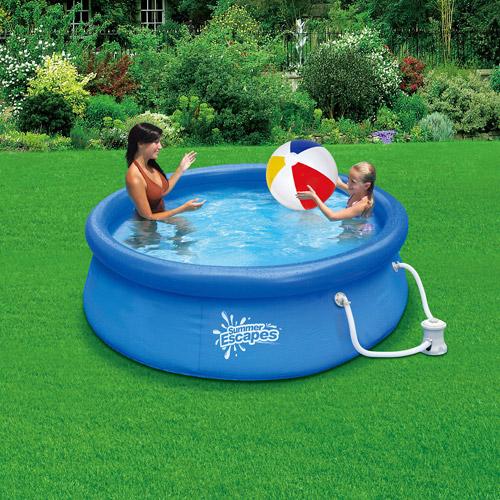 """Summer Escapes 8' x 30"""" Quick Set Swimming Pool"""
