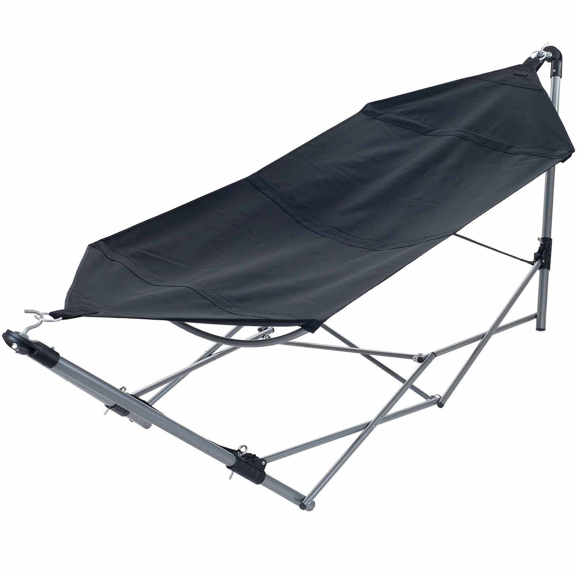 stalwart portable hammock with frame stand and carrying bag walmartcom