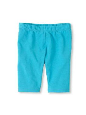 Vivian's Fashions Legging Shorts - Girls, Biker Length, Cotton