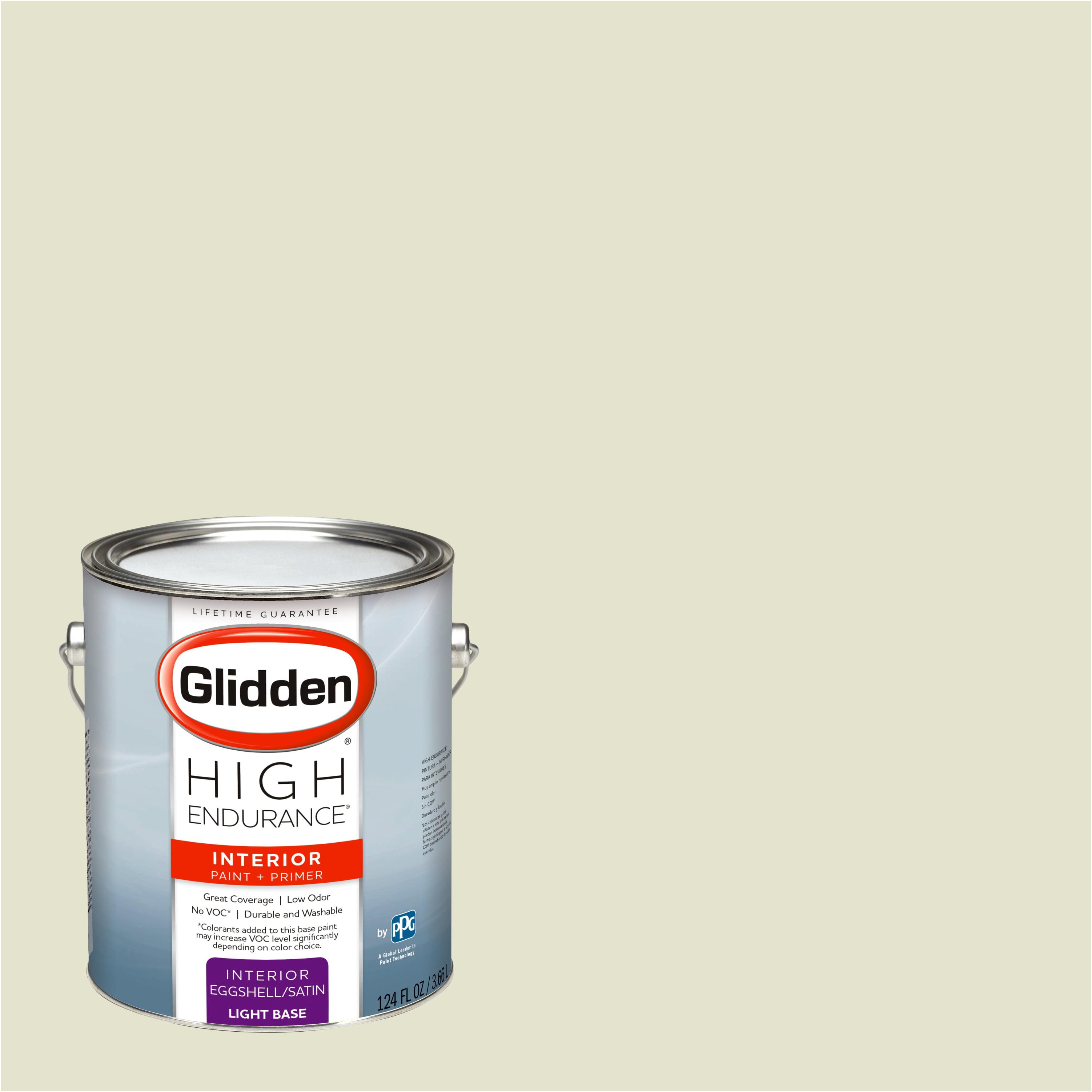 Glidden High Endurance, Interior Paint and Primer, Light Sage ...