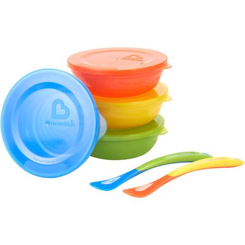 Munchkin Love-a-Bowls, BPA-Free, 4-Pack