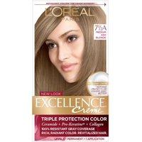 L'Oreal Paris Excellence Crme Permanent Hair Color, 7.5A Medium Ash Blonde 1 ea