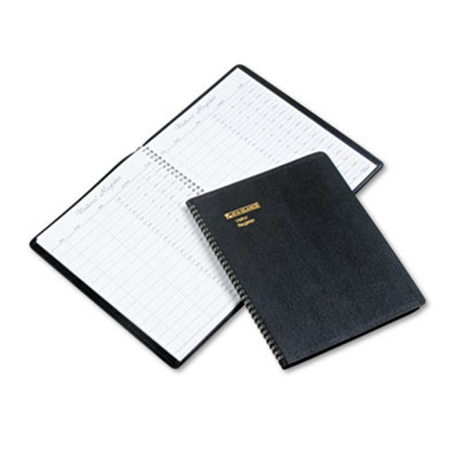 Recycled Visitor Register Book Black 8 .5 x 11 by Pen2Paper