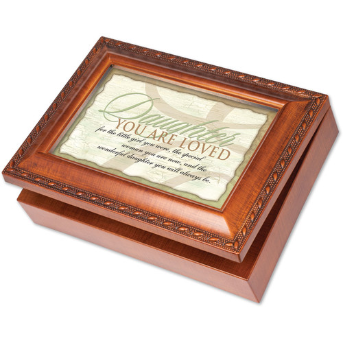 Cottage Garden Traditional Daughter Music Box