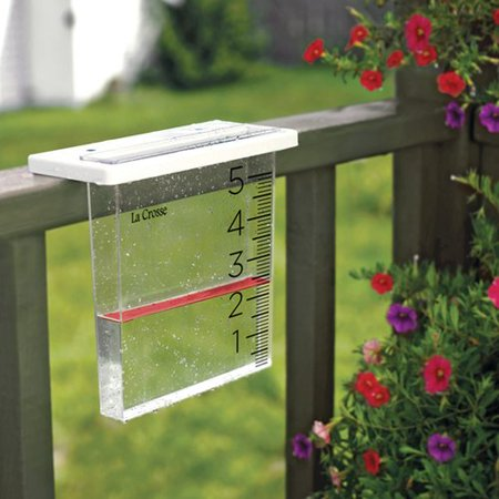 La Crosse Waterfall Rain Gauge