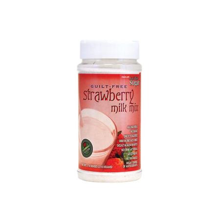 Just Like Sugar Guilt Free Strawberry Milk Mix 7 6 Oz Jar