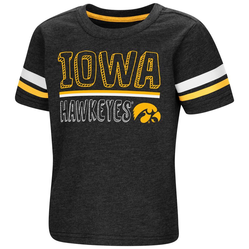 University of Iowa Hawkeyes Toddler Boys Short Sleeve Graphic Tee