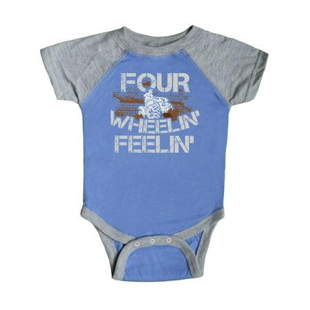 Four Wheeling Mudding Activity Infant Creeper