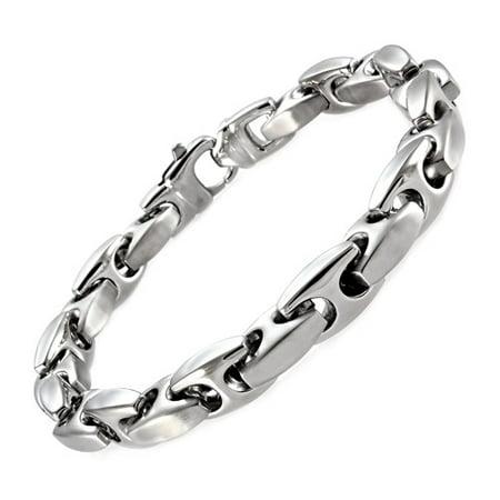 Stainless Steel Mariner Link Bracelet, 9