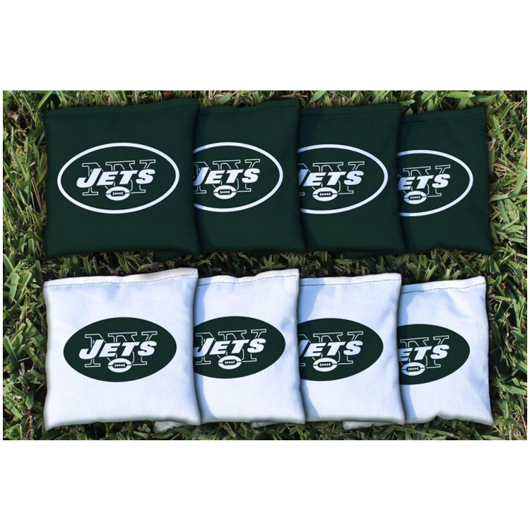 New York Jets Replacement All-Weather Cornhole Bag Set - No Size