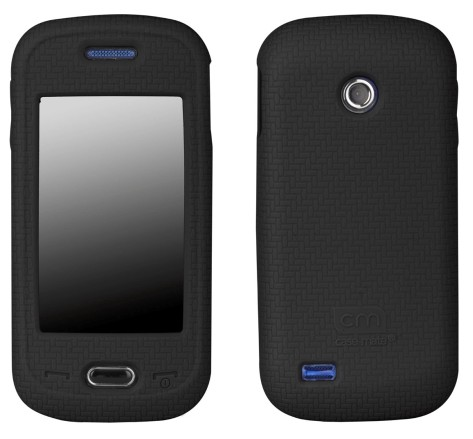 Case-Mate - Smart Skin Case Silicone for Samsung Eternity II SGH-A597 - Black