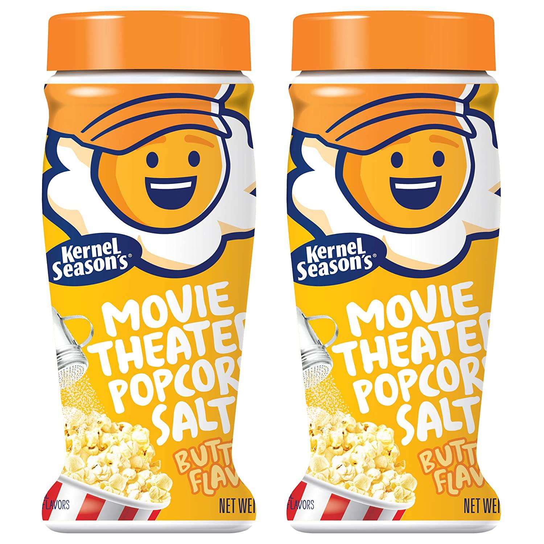 Kernel Seasons Popcorn Seasoning Jumbo Movie Theater Butter Variety Pack Salt 2 Count Walmart Com Walmart Com