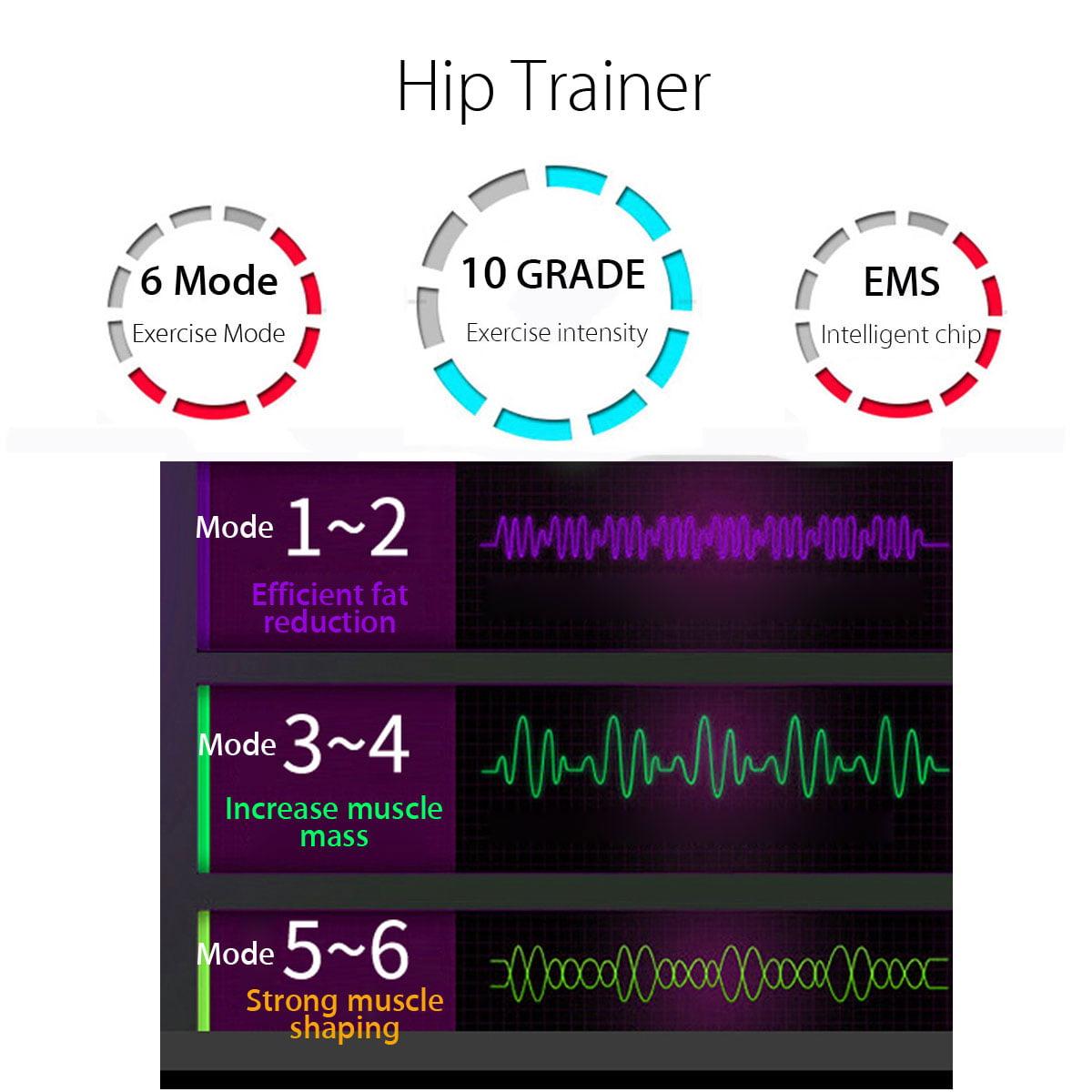 Hip Trainer Buttocks Lifting Butt Training Booster Muscle Stimulator Massage