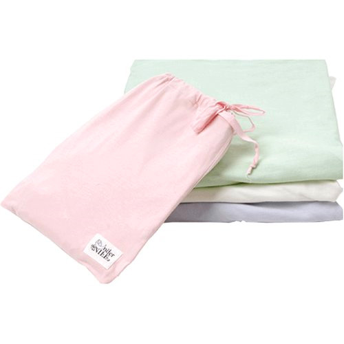 Organic Fitted Crib Sheet - Solid - Sage