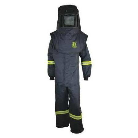 OBERON COMPANY TCG5B-XL TCG65™ Series Arc Flash Hood, Coat, & Bib Suit Set (Flash Outfit)