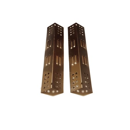 Set of 2 Stainless Steel Heat Plates for Backyard Grill ...