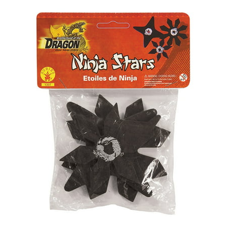 rubber ninja stars (3)](Ninja Stars For Kids)
