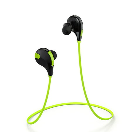 GooPro Bluetooth Headphones Sport Wireless Earbuds In-Ear Stereo Earphones with Mic (Bluetooth 4.0, 5 Hours Play-time, CVC 6.0 Noise Cancelling, IPX4 Sweatproof ) - Green ()