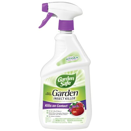 Garden Safe Brand Multi-Purpose Garden Insect Killer, Ready-to-Use 24-fl