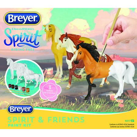 Horse Painting Kit (Breyer Spirit Riding Free - Deluxe Spirit and Friends Horse Painting Craft Kit)