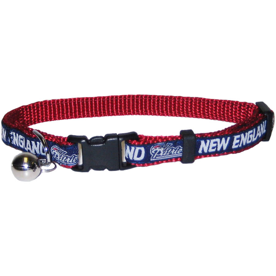 Pets First Nfl New England Patriots Cat Collar