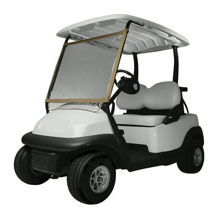 Classic Accessories Fairway Deluxe Portable Golf Cart Windshield - Halloween Golf Cart Parade
