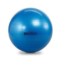 TheraBand Exercise and Stability Ball, Pro Series SCP Slow Deflate Burst Resistant, Blue, 75cm Diameter