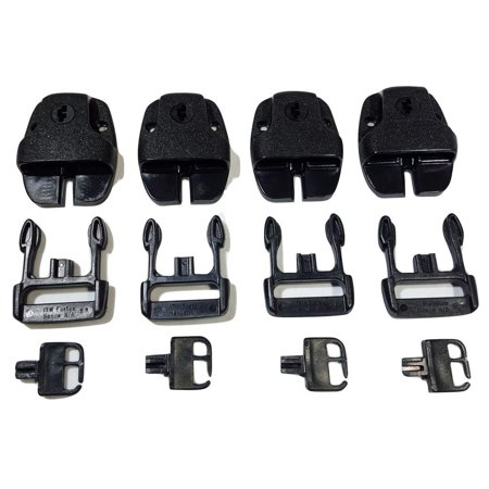Qty 4 -  Nexus Spa Hot Tub Cover Broken Latch Repair Kit Clip - Front Cover Latch