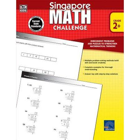 Singapore Math Challenge, Grades 2 - 5 (Halloween Jobs Singapore)