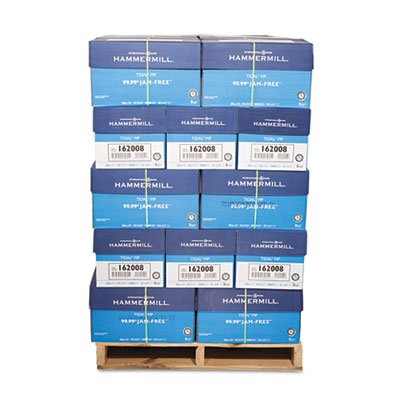 Hammermill Tidal MP 20lb 8.5x11 92 Bright (162008PLT) 200,000 Sheets, 40 Cases, 5000 Sheets/Case-Pallet Pricing