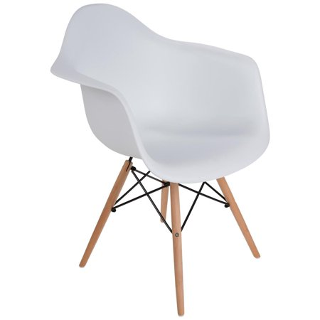 Excellent Mid Century Modern Eiffel Style Bucket Dining Chair With Machost Co Dining Chair Design Ideas Machostcouk