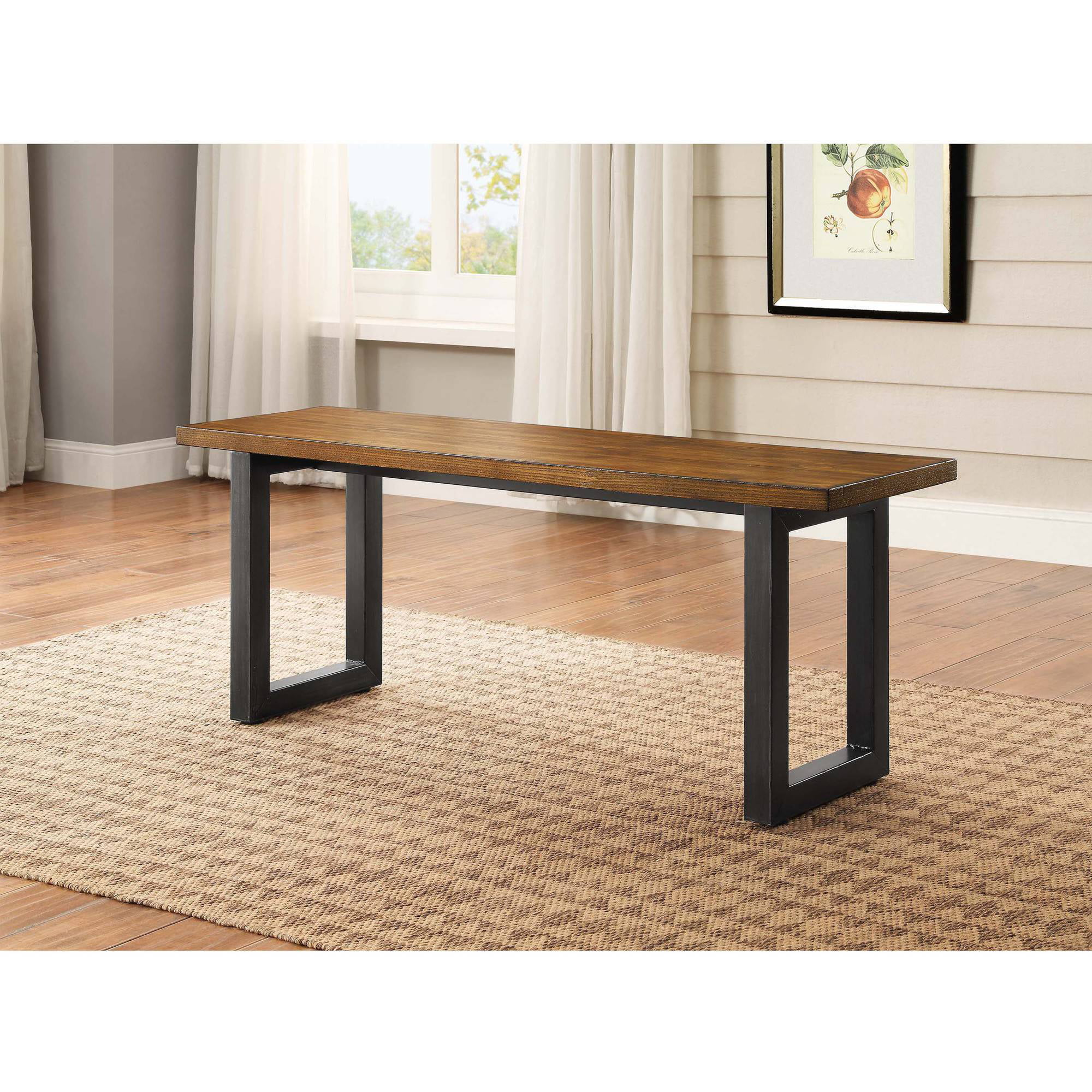 Better Homes and Gardens Mercer Dining Bench Walmartcom