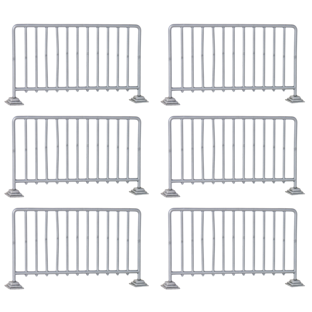 Set of 12 Crowd Control Guardrails for WWE Wrestling Action Figures