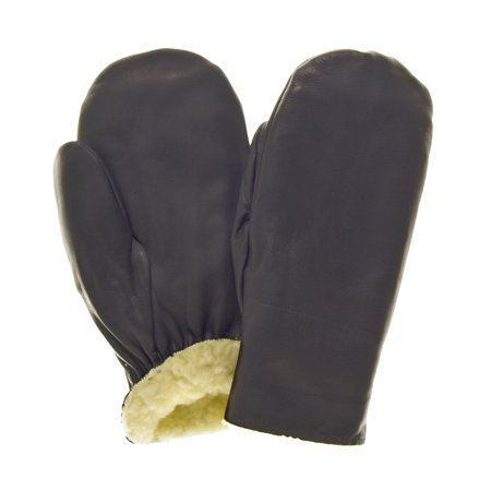 Raber Gloves Men's Pullover Cowhide (Black Grain Cowhide Glove)