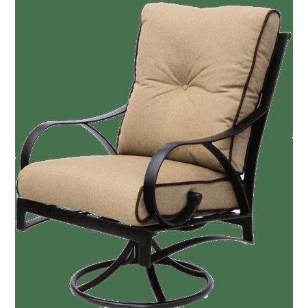 Newport Cast Aluminum Outdoor Swivel Rocker chair
