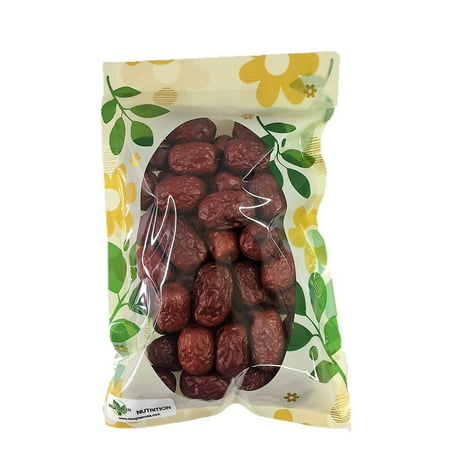 Large Fruit (HerbsGreen Hand Selected Jujube Chinese Red Dates, Large Size)