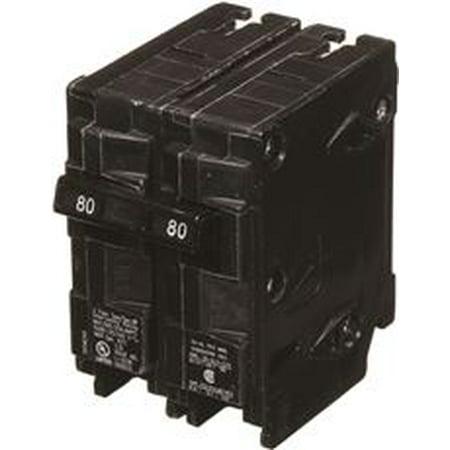 240v Quad Siemens Circuit Breaker (Siemens Q280 Circuit Breaker, 80 Amp, 2 Pole, 240 Volt )