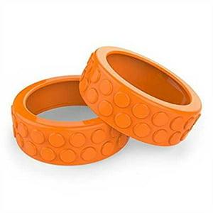 Sphero Ollie Nubby Tires for Robotic Cylindrical Ball (Orange)