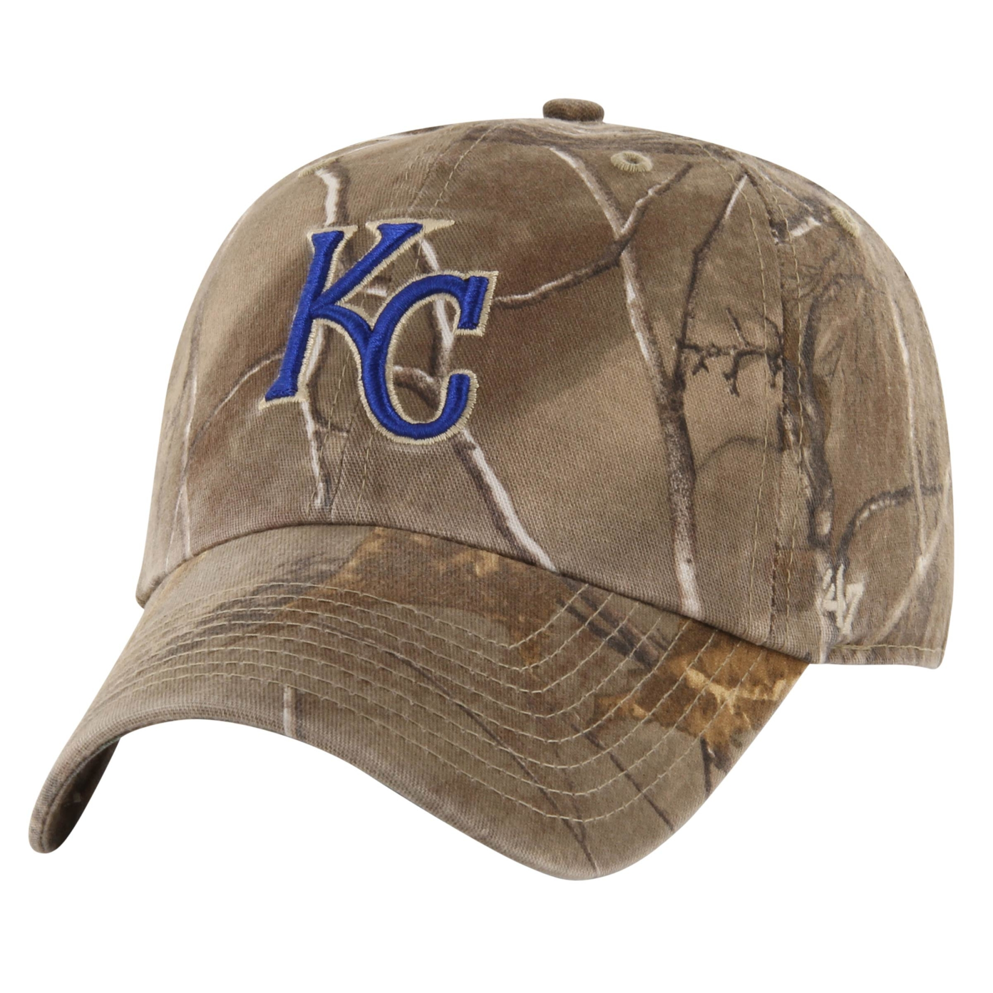 '47 Brand Kansas City Royals Franchise Fitted Hat - Realtree Camo