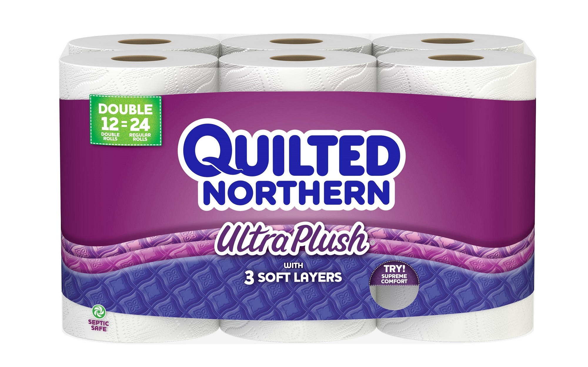 quilted northern toilet paper ultra plush 12 double rolls