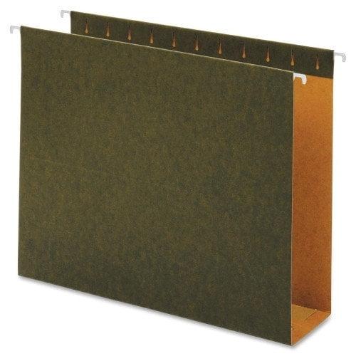 Green Hanging Box Bottom Folders