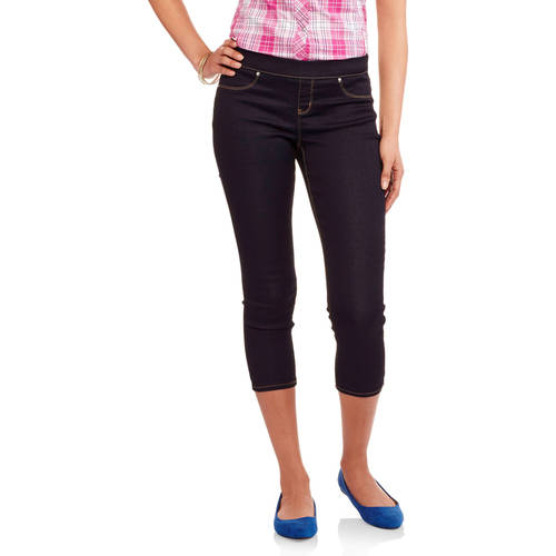 "L.E.I. Juniors' 21"" Luxe Pull-On Crop Capri Pants ..."