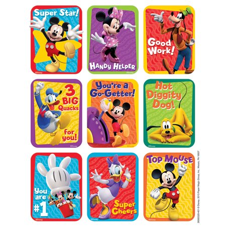 Fan Club Sticker - MICKEY MOUSE CLUBHOUSE MOTIVATIONAL GIANT STICKERS