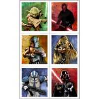 Star Wars Stickers (4 sheets)