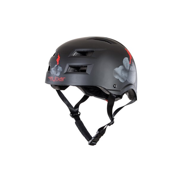 Flybar Certified Multi Sport Helmets For Skateboarding, Bicycling, Roller Blading, Longboarding & Pogoing  -Cloud Formations - M/L