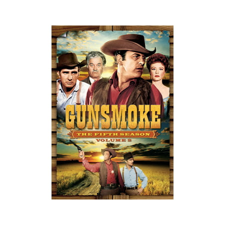 Gunsmoke: The Fifth Season, Volume 2 (DVD) (Angry Birds Seasons Halloween 1-8)