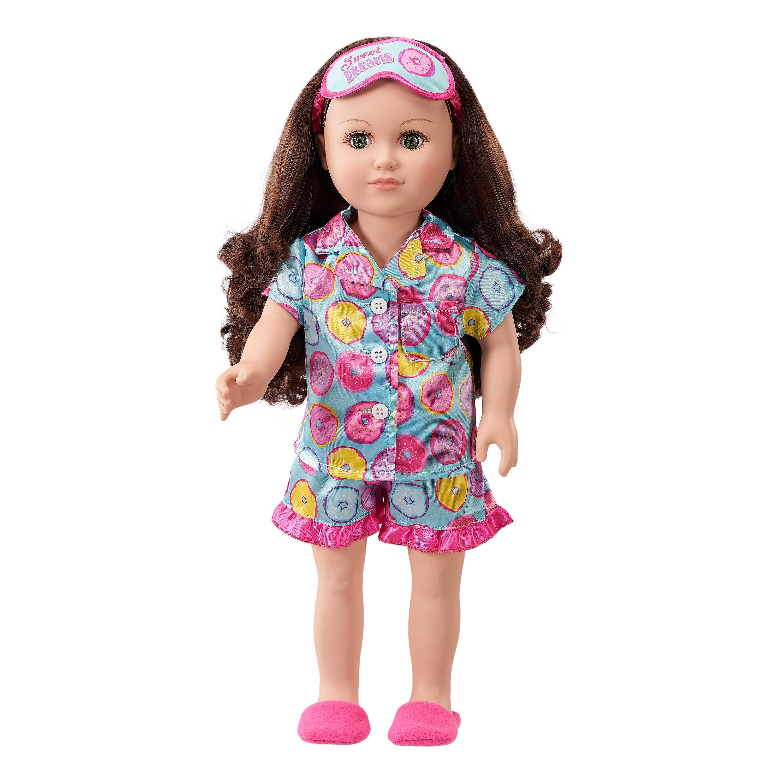 """My Life As 18"""" Sleepover Host Doll, Brunette Hair"""