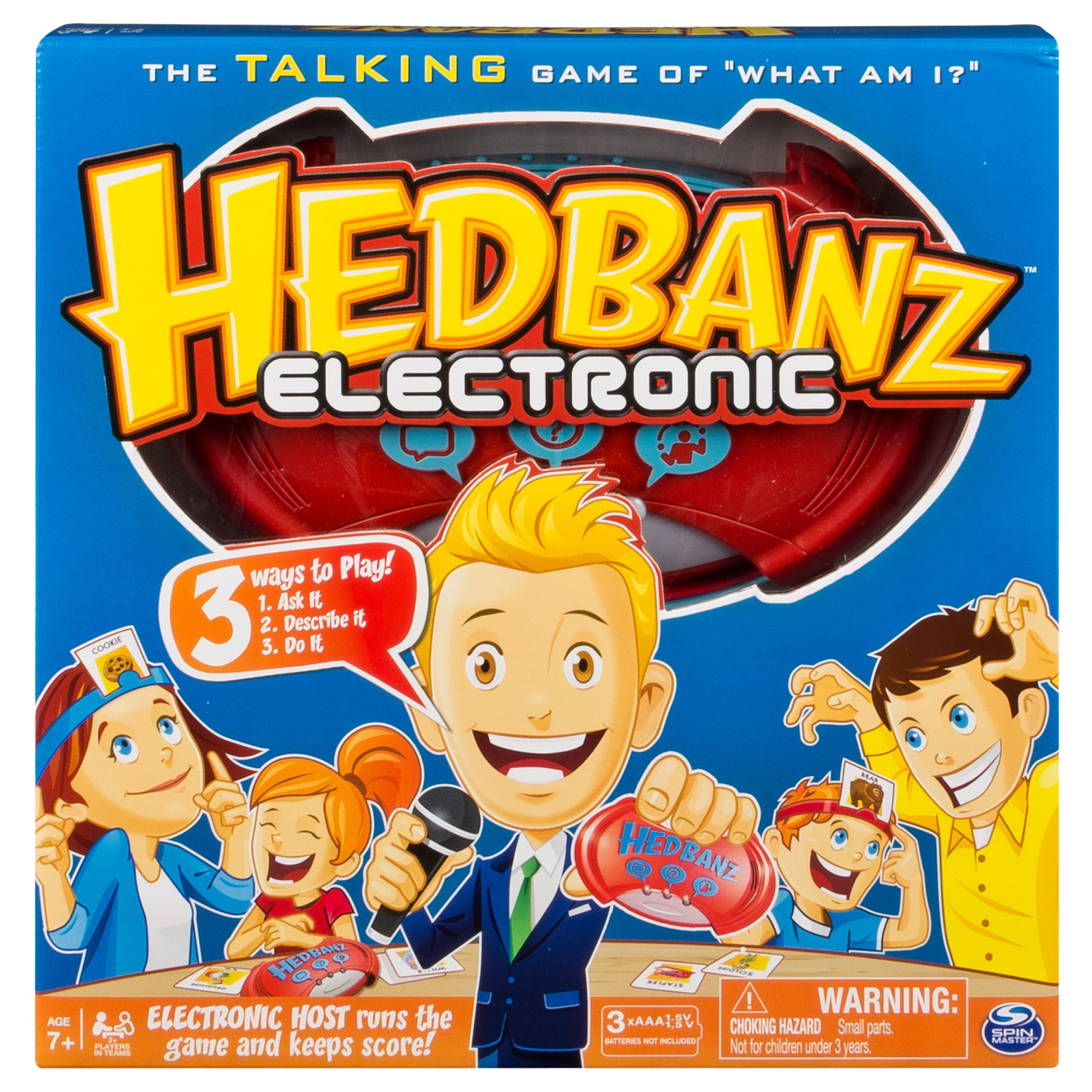 Spin Master Games ‐ Hedbanz Electronic