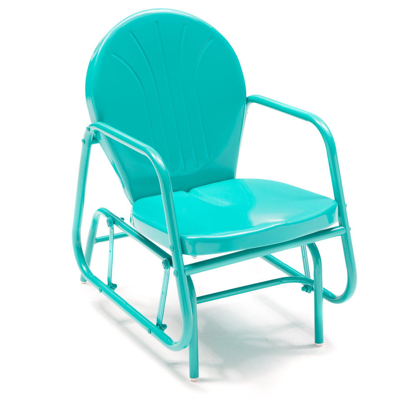 Retro Outdoor Chair coral coast vintage retro outdoor glider chair - walmart